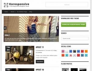 koresponsive-free-wordpress-theme