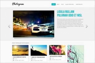 Photogram Free Gallery Wordpress Theme