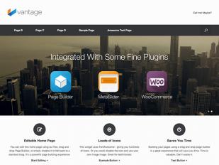 vintage free responsive wordpress theme